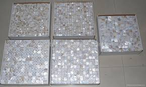 mesh mother of pearl mosaic tile 1