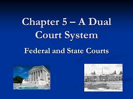 Chapter 5 A Dual Court System Ppt Video Online Download