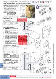 hafele frontino sliding cabinet door hardware saudireiki