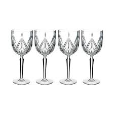 waterford marquis lacey wine set of 4