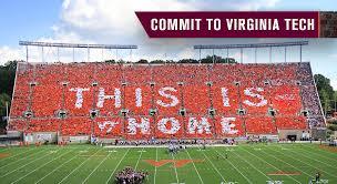 Va Tech Lane Stadium Seating Chart Home Hokie Club Virginia Tech Athletic Fund
