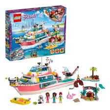 Конструктор <b>LEGO</b>® <b>Friends</b> 41381 <b>Катер для</b> спасательных ...
