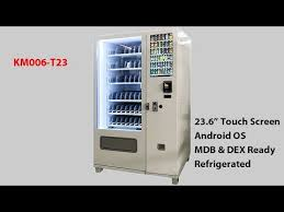 Coffee Capsules Vending Tower Machine Stunning Touch Screen Operated Large Combo Vending Machine KM48T48 YouTube