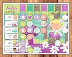 My Reward Board Fairy Reward Chart