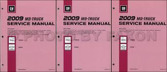 2008 topkick and kodiak repair shop manual 3 vol set original 2009 gmc topkick and chevy kodiak repair shop manual 3 vol set original 289 00