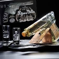 two pistol bottle tequila shot gles with gifts gift set 内 祝