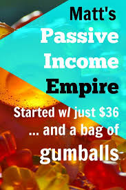 Vending Machine Income Magnificent Matt's Passive Income Empire Started With Just 48 And A Bag Of