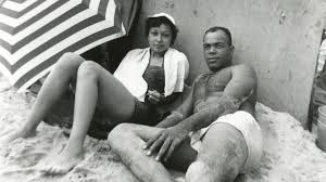 White ccouple black slave