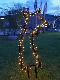 Gartenmotive Stern Komet Weihnachtsbeleuchtung Figur Aus