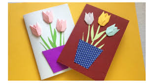 Greeting Card Tutorial | Happy Birthday Card | Flower Card Template ...