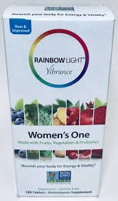 Rainbow Light Vibrance Women S One Reviews Rainbow Light Vibrance Womens One Multivitamin 120 Tablets