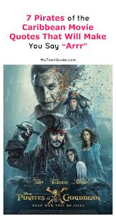 Pirates Of The Caribbean Quotes Pirates of the Caribbean Dead Men Tell No Tales Movie Quotes My 47