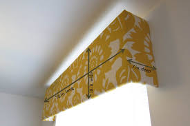 Diy Wood Cornice Inspired Whims Living Room Update Diy Cornice Box