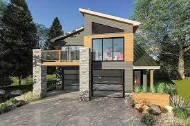 Small ultra modern house floor plans. Plan 62695dj Ultra Modern Tiny House Plan In 2021 Modern Tiny House Modern Small House Design Country House Design
