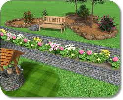 Small Picture 2 level and raised flower bed playing in the dirt