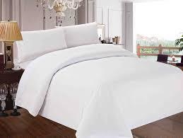 image of luxury duvet cover white