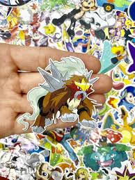 Entei Evolution Chart Entei Pokemon Custom Vinyl Sticker Limited Edition Sticker Stickers Vinyl Stickers Custom Stickers Laptop Sticker Pokemon