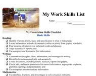 a list of skills skills list make your list of skills count