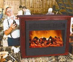 585Amish Electric Fireplace