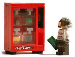 Lego Vending Machine Best LEGO Vending Machine Gearfuse