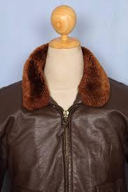 vintage star sportswear 1968 g 1 us navy goatskin leather flight jacket 42