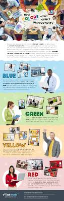 Office space colors Executive Office How The Colors Of The Office Can Affect Productivity In Your Employees