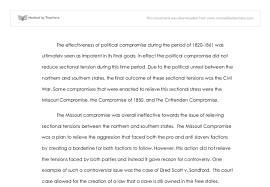 the effectiveness of political compromise during the period of  document image preview