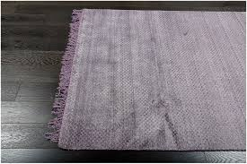 rugsville elegant checd purple gray flatweave wool rug 150 x 210