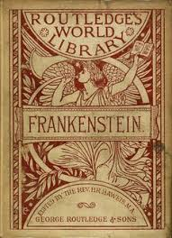 frankenstein book cover 1818 the first page of frankenstein in mary sey s own handwriting of