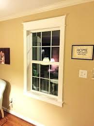 wood window trim installing exterior
