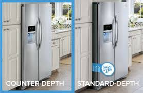 small depth refrigerator. Perfect Small A Counter Depth Refrigerator Gives You A Builtin Look For More  Affordable Price Counter Refrigerators Are Freestanding That Have  And Small Depth Refrigerator U