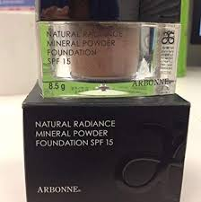 Arbonne Natural Radiance Mineral Powder Foundation Tan