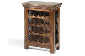 Wooden bar cabinet from India Wooden Wine Rack