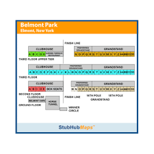 Belmont Race Track Seating Chart Belmont Park Racetrack Events And Concerts In Elmont
