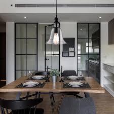 Primitive Kitchen Lighting Vintage Industrial Primitive Glass Hanging Ceiling Lamp Household