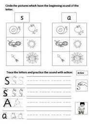 The supported worksheet includes boxes to show how many sounds are in the. Phonics Worksheets 1 S A T I N P By Mrs Ouri Tpt