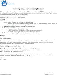 Interview Confirmation Email Sample Achievable Job Offer Acceptance