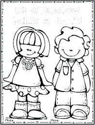 school coloring sheets printable welcome back to pages boy student in free