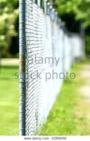 chain link fence post. Chain Link Fence Anchors Post Anchor Stock Photos
