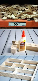 diy office gifts. Diy Drawer Organizer Project Wood Laths Super Cheap At Home Depot The S Decorations Ideas Cool Office Gifts