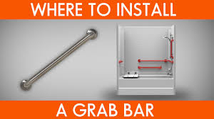 where to install grab bars