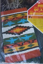 vintage columbia minerva rugs by the numbers navajo kit