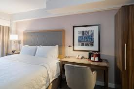 quarto hampton inn manhattan hotel madison square garden area