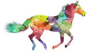 Bildresultat för tecknad gratis häst som hoppar