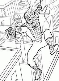 Disegni Da Colorare Tema Spiderman Settemuseit
