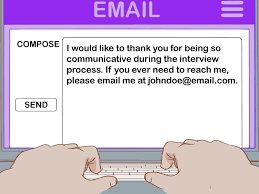 sending a thank you email after a phone interview 4 ways to follow up after a phone interview wikihow