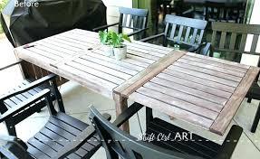 repaint patio furniture how