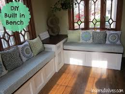 Kitchen: Kitchen Bench Seating Elegant Built In Bench In Kitchen 96 Perfect  Furniture On Built