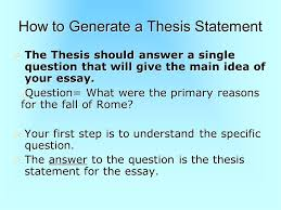 topic thesis ending conclusion ppt video online 6 how