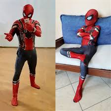 Iron Spiderman Costume For Kids Adult New Year Purim Party Spiderman  Spandex Cosplay Costumes For Christmas Bodysuit Suit On Aliexpress.com |  Alibaba Group